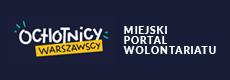 link do strony Ochotnicy warszawscy - miejski portal wolontariatu