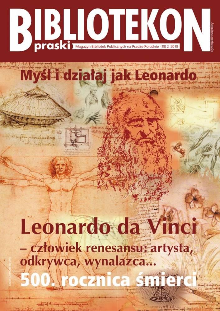 Okładka 18 numeru Bibliotekonu Praskiego - magazynu Bibliotek Publicznych na Pradze-Południe