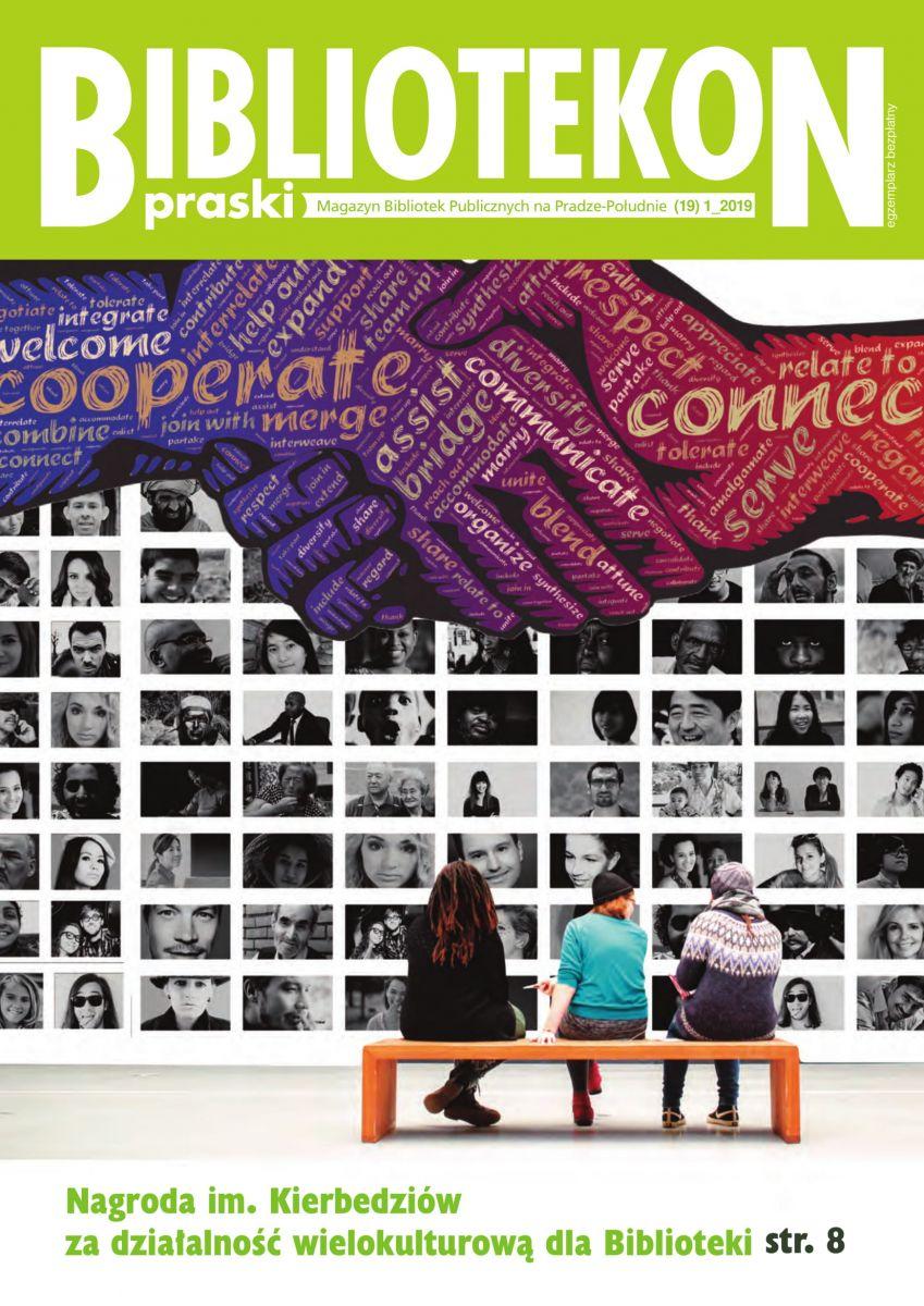 Okładka 19 numeru Bibliotekonu Praskiego - magazynu Bibliotek Publicznych na Pradze-Południe