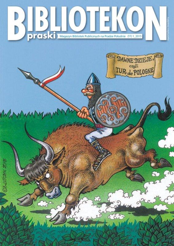 Okładka 11 numeru Bibliotekonu Praskiego - magazynu Bibliotek Publicznych na Pradze-Południe