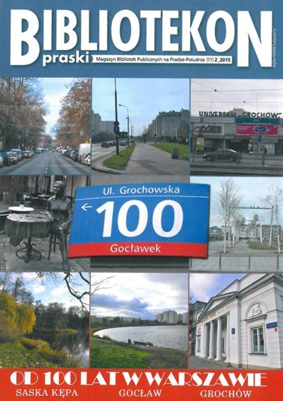Okładka 12 numeru Bibliotekonu Praskiego - magazynu Bibliotek Publicznych na Pradze-Południe
