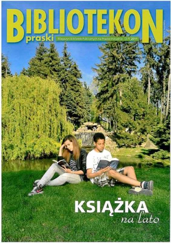 Okładka 3 numeru Bibliotekonu Praskiego - magazynu Bibliotek Publicznych na Pradze-Południe