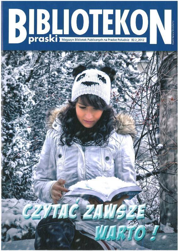 Okładka 6 numeru Bibliotekonu Praskiego - magazynu Bibliotek Publicznych na Pradze-Południe
