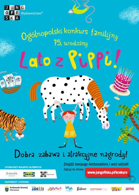 """Ogólnopolski konlurs familijny """"Lato z Pippi"""""""