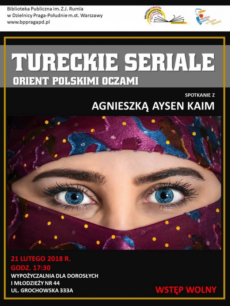 """""""Tureckie seriale. Orient polskimi oczami"""""""